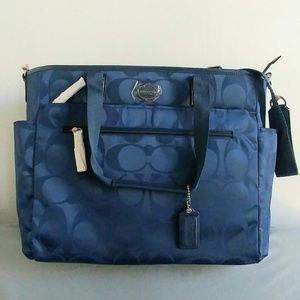 Coach Nylon Diaper Bag Changing Pad baby SOLD OUT